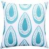 Mercury Row Bauer Paisley Cotton Throw Pillow