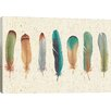 Mercury Row Feather Tales Graphic Art on Wrapped Canvas