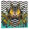 Mercury Row Owl Graphic Art on Wrapped Canvas