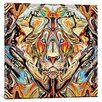Mercury Row Lion Graphic Art on Wrapped Canvas