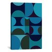 Mercury Row Radia II Graphic Art on Wrapped Canvas