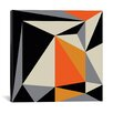 Mercury Row Angles III Graphic Art on Wrapped Canvas