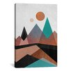 Mercury Row Copper Mountain Graphic Art on Wrapped Canvas
