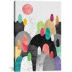 Mercury Row Little Land of Pebbles Graphic Art on Wrapped Canvas
