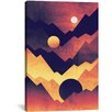 Mercury Row Nightfall Graphic Art on Wrapped Canvas