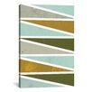 Mercury Row 90 Degree Triangles I Graphic Art on Wrapped Canvas