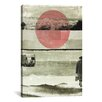 Mercury Row Pink Moon Rising Graphic Art on Wrapped Canvas