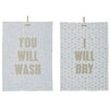 Mercury Row 2 Piece Kitchen Towel Set