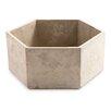 Mcmaster Cement Pot Hexagon Pot Planter - Mercury Row Planters