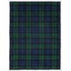 ChappyWrap Black Watch Plaid Cotton Blend Blanket