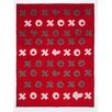 ChappyWrap Hugs and Kisses Cotton Blend Blanket