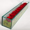 TC Floral Company Preserved Roses in Rectangular Glass Box