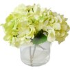 TC Floral Company Hydrangeas in Glass Jar
