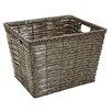Simplify Grey Chip Storage Basket