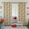 Best Home Fashion, Inc. Rabbit and Fruit Grommet Top Room Darkening Curtain Panels (Set of 2)