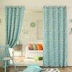 Best Home Fashion, Inc. Zebra Room Grommet Top Darkening Curtain Panels (Set of 2)