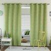 Best Home Fashion, Inc. Chevron Grommet Top Room Darkening Curtain Panels (Set of 2)