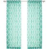 Best Home Fashion, Inc. Moroccan Print Curtain Panels (Set of 2)