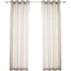 Best Home Fashion, Inc. Oxford Indoor/Outdoor Curtain Panel (Set of 2)