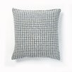 Best Home Fashion, Inc. Felted Wool Blend Houndstooth Pillow Cover