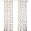 Best Home Fashion, Inc. Oxford Basketweave Curtain Panels (Set of 2)