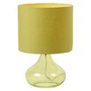 Value by Wayfair Grassy Glass 36.5cm Table Lamp
