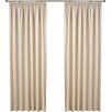 Value by Wayfair Amelie Curtain Panel (Set of 2)
