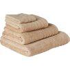 Wayfair Basics 4-tlg. Handtuchset aus Baumwolle
