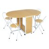 LPD Butterfly Extendable Dining Table and 4 Chairs