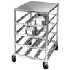 Channel Manufacturing Half Size Mobile All Welded Set-up Can Rack