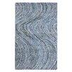 Anji Mountain Stardust Hand-Tufted Blue Area Rug