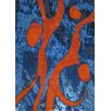 Foreign Accents Legends Hand-Tufted Blue Area Rug
