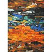 Foreign Accents Legends Hand-Tufted Orange Area Rug