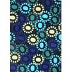 Foreign Accents Festival Blue Area Rug