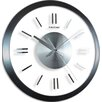 "FirsTime 14"" Modish Gunmetal Wall Clock"