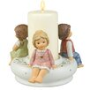 Goebel Kerzenleuchter Advent, Advent, ein Lichtlein brennt
