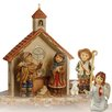 Goebel 6 Piece Ein Wintermärchen Nativity Scene Figure Set