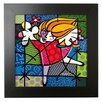 Goebel Ballet Dancer by Romero Britto Framed Wall Art