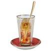 Goebel Autumn 1900 2 Piece Latte Macciato Set