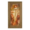 Goebel Autumn The Four Seasons, 1900 by Alphonso Mucha Framed Wall Art