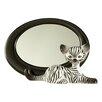 Goebel Zebra Kitty Mirror