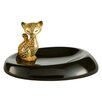 Goebel Leopard Kitty Bowl