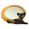 Goebel Leopard Kitty Mirror