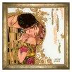 Goebel The Kiss by Gustav Klimt Framed Graphic Print