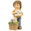 Goebel Dekorationsfigur Meine kleine Hasenbande Frühlingszeit