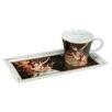 Goebel 2-tlg. Kaffeetassen-Set Kunst & Kaffee