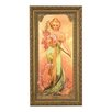 Goebel The Four Seasons Spring, 1900 by Alphonse Mucha Framed Wall Art