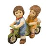 Goebel Two Best Friends Going on a Bicycle Ride Figurine