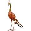 Adobe Statue Peacock