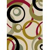 Mayberry Rug City Ivory Circles Area Rug